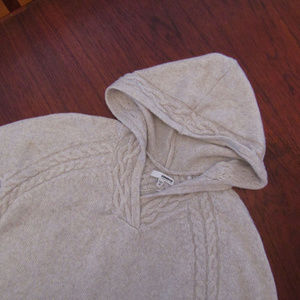SONOMA Hooded Knit Sweater with Textured Design